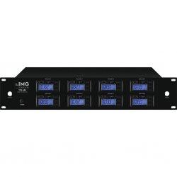 8-kanaals multifrequentie ontvanger,  met UHF PLL-technologie 1000 selecteerbare UHF-frequenties