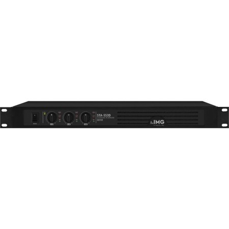 IMG-Stage Line | Monacor 3-channel digital PA amplifier STA-553D Class D concept