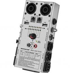 Kabel tester voor XLR, 6.3 mm jack, RCA, Din, Speakon, USB, RJ45 model CT-3