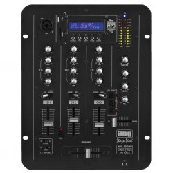 IMG -Stage Line   Monacor Stereo DJ mixer with integrated MP3 player