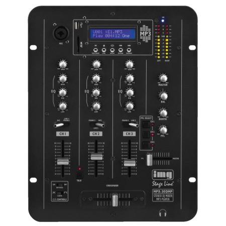 IMG -Stage Line | Monacor Stereo DJ mixer met geïntegreerde MP3-speler