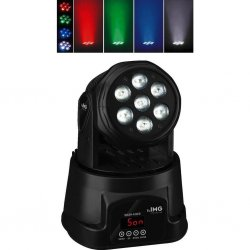 Mini LED moving head washer WASH-42LED Strong performance with highest luminous efficiency, small dimensions and low weight