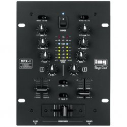 IMG-Stage Line | Monacor MPX-1-SW Stereo DJ mixer