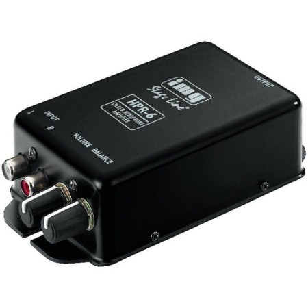 Efficient stereo headphone amplifier, Stereo RCA input