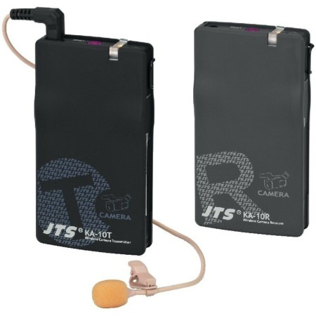 JTS Draadloos 16-kanaals PLL audio transmissiesysteem voor Cam