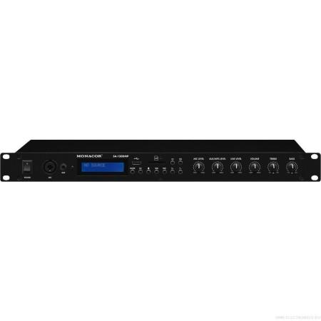 IMG-Stage Line | Monacor Stereo versterker, 140 W SA-130DMP