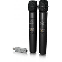 BEHRINGER draadloos microfoon-set ULTRALINK ULM202USB