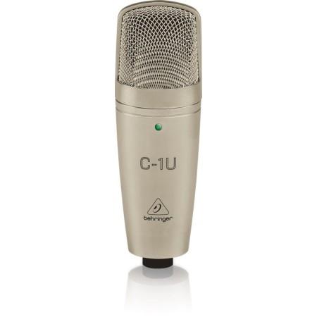 BEHRINGER STUDIO CONDENSER MICROFOON USB C-1U