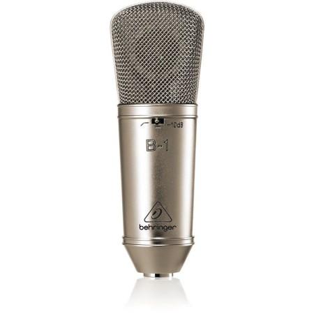 BEHRINGER SINGLE DIAPHRAGM CONDENSER STUDIO MICROFOON B-1