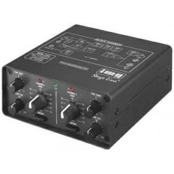 IMG-Stage Line MPA-202 2-channel low-noise microphone preamplifier