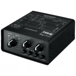 IMG-Stage Line MPA-102 1-channel microfoon voorversterker