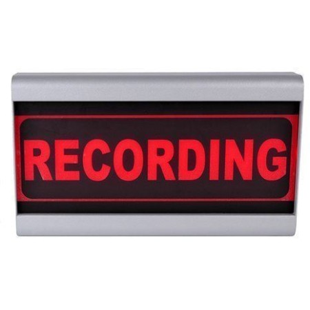 D&R Studio Lamp Recording Mono Face