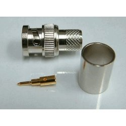 BNC-Male Crimp voor LMR400 / RG213 / CLF400 (Price per 10 pieces)