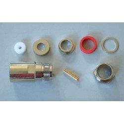 N-Connector Female Clamp voor LMR400 / RG213 / CLF400 (10 stuks)