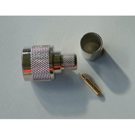 N-Connector Male Crimp voor LMR400 / RG213 / CLF400 (10 stuks)