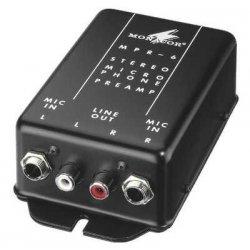 Microfoon voorversterker MPR 6 voor 2 microfoons