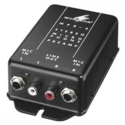 Monacor MPR 6 Microphone preamplifier