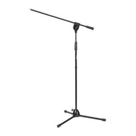 IMG-Stage Line Microfoonstatief floor stand MS-90-SW