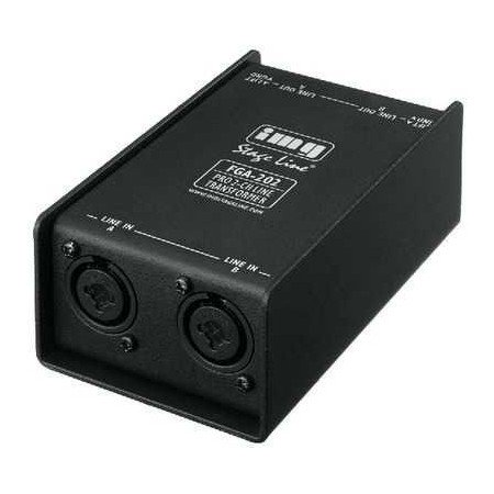 IMG-Stage Line Professional 2-channel line transformer