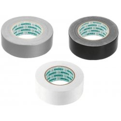 Textile Tapes Width: 50mm, length: 50m Silver Black White