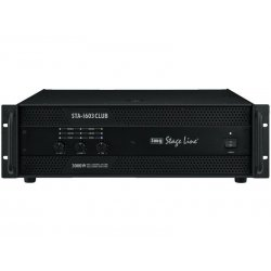 IMG-Stage Line | Monacor STA-1603CLUB PA 3-channel versterker
