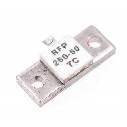 50 ohm 250W flange mount RF terminating resistor