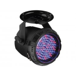 LED spotlights, RGB, 90 super bright LEDs, 5 mm each PARL-30SPOT