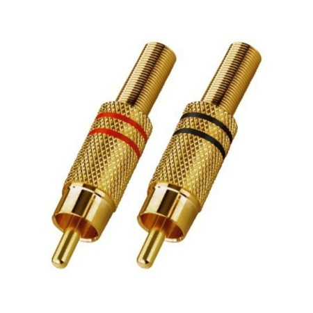 T-707GLC RCA Plug-In Connectors gold-plated body