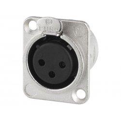 NEUTRIK XLR panel connectors, 3 poles NC-3FDL1 ( 10 pieces )