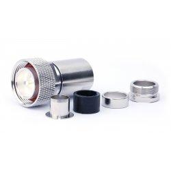 7/16 Male clamp SOLDERLESS voor o.a. Ecoflex15 (15mm)