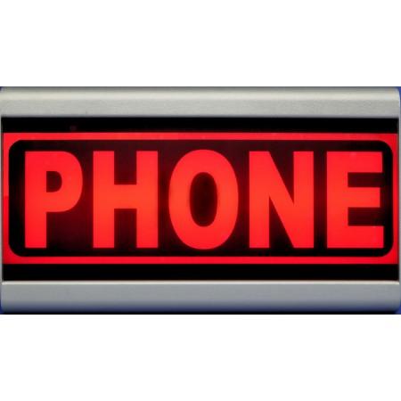 D&R Studio Lamp Phone warning Mono Face