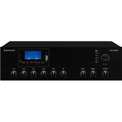 Monacor PA-812DAP class D PA mixing amplifier