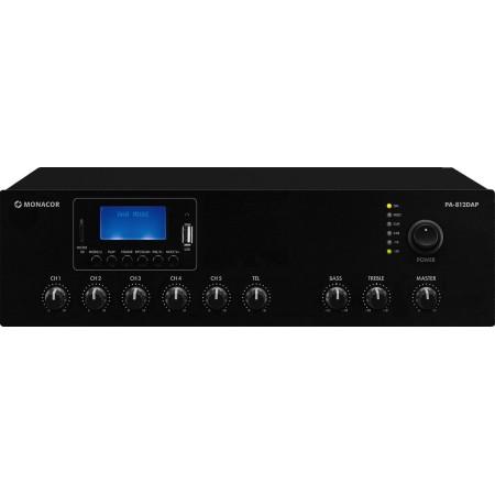 Monacor PA-812DMP class D PA mixing amplifier