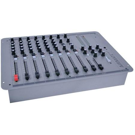 D&R AIRMATE USB 8 kanalen FM Broadcast mixer mengtafel