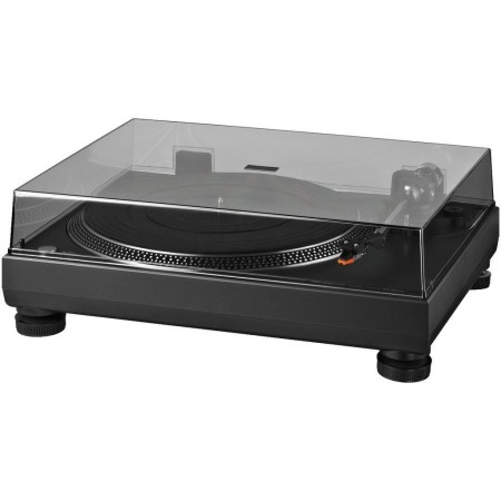 Stereo hi-fi turntable with USB port and integrated phono preamplifier DJP-200USB