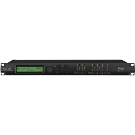 professional digital parametric/graphic 2 x 30 band stereo equalizer with high-quality DSP