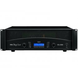 IMG-Stage Line | Monacor STA-3000 Professional stereo 5.5 KW PA versterker