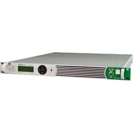 TEM 100 W FM Zender in 1 unit 19inch rack MPX input