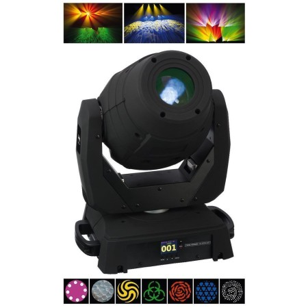 LED MOVING HEAD with motor zoom function