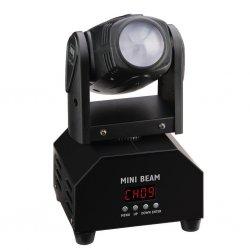 Mini LED beam moving head BEAM-40/WS effectieve bundel met kleine afmetingen
