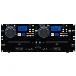 IMG-Stage Line CD en MP3-speler, met een USB 2.0-interface en SD / MMC-kaart slot