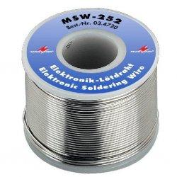 Monacor Lead-free electronic soldeertin wire MSW-252