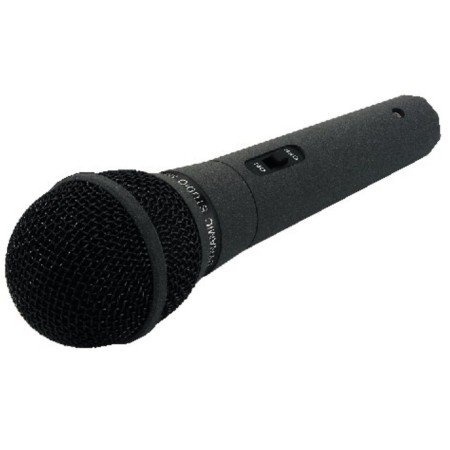 Dynamic microphone, for speech, discotheques and standard applications
