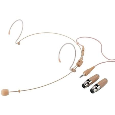 Professional Ultra-light headband microphone, omnidirectional characteristic